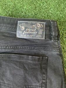 Mens Diesel THAVAR 0R84A Stretch Slim-Skinny Grey Jeans W36 L32