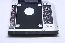 SATA 2nd HDD SSD Caddy Festplatte Einbau Rahmen 9,5mm für Dell E6330 E6430 E6530