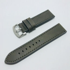 Men Women Watch Srtap Writst Watch Band Watch Belt Genuine Leather 18/20/22/24mm