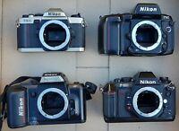 4 Untested Parts Only Vintage Nikon 35mm Vintage Film Camera Body F90 F-501 BL33