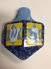 Dreidel Candy Tin Filled With Salted Caramel Choco Rocks Hanukkah Chanukah