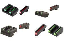 TruGlo Brite Site Fiber-Optic Handgun Series Front/Rear 3-Dot Pistol Sight Sets