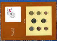 Coin Sets of All Nations Spain EURO 1999-2002 UNC 1, 2 Euro 2002