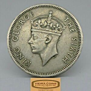 1951 Hong Kong 50 Cents, Free Shipping - #C18397