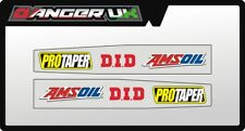 HONDA CR 125 250 02-07 MOTOCROSS SWING ARM GRAPHICS DECALS PRO TAPER DID AMSOIL