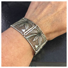 Markenlose Armbänder ohne Steine aus echtem Metall im Statement-Stil