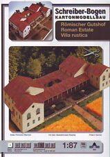 Schreiber-Bogen Kartonmodellbau Römischer Gutshof Villa Rustica
