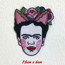 Frida Kahlo Self Portrait Back Embroidered Iron Sew On Patch #1604