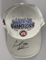 Carnell Williams signed Auburn Tigers hat sugar bowl champions cadillac