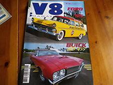 V8 MAGAZINE n° 43 FORD WAGON 55 - BUICK GS 455 - SAN FERNANDO comme neuf