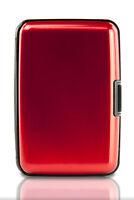 Aluminum Wallet RFID Blocking  Crash Proof Credit Card Holder Case Pocket