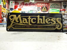 MATCHLESS LONDON MOTORCYCLE SIGN PARTS & ACCESSORIES EC0013