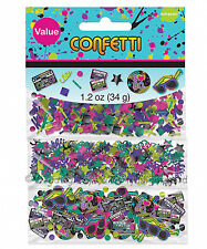 Triple Pack 80s Neon Table Confetti Sprinkles Disco Birthday Party Decorations