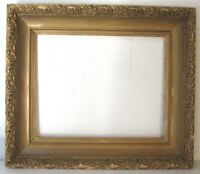 ANTIQUE GREAT QUALITY GILT FRAME FOR PAINTING  20  X 16   OUTSIDE 28 X 24 INCH