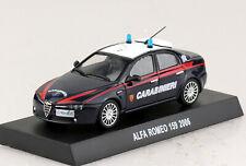 Alfa Romeo 159 Carabinieri Polizei 2006 1:43  Modellauto