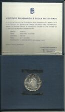 ITALIA REPUBBLICA 1975 500 LIRE ARGENTO MICHELANGELO FDC