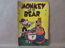 Atlas November 1953 Volume 1 #2 The Monkey and the Bear Comic Book