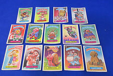 Garbage Pail Kids Colorful Trading Cards Topps Chewing Gum Inc 1986 Lot of 14