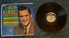 Carlos Ramirez LP Camay Records CA 3014 Baia, Besame Mucho, All My Love, & more!