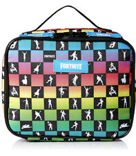 Fortnite Amplify Dance Insulated Lunch Box Bag Tote Rainbow School Lunchbox NEW!