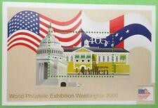 Nederlandse Antillen NVPH 1662 Blok Washington 2006 postfris P44