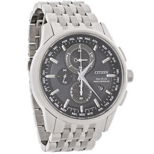 New Citizen Men's Radio Controlled World Timer Eco-Drive Watch AT8110-53E