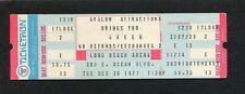 1977 Queen Unused Concert Ticket Long Beach Ca News Of The World Freddie Mercury