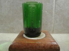 JAGERMEISTER DOUBLE SHOT FROSTED SHOT GLASS