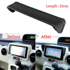 Anti Glare Car Dash Radio Sun Shade GPS Navigation Hood Cap Mask Universal 22 CM