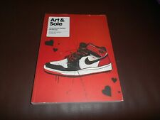 Art & Sole sneakers trainers book by intercity Nike Adidas Jordan 1 design 2012