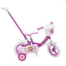 10 Zoll Kinderfahrrad Paw Patrol Mädchen 2 3 4 jahre Kinder Fahrrad Disney Toims