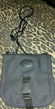 American Tourister Black Nylon Messenger Bag Crossbody Wallet 6X6