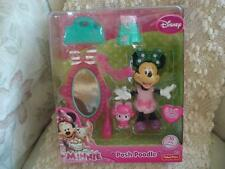 Disney MINNIE Posh Poodle With  Easy Snap On Outfits 10 Play Pieces