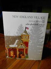 Dept 56 New England Village Echo Glen Little School Nib