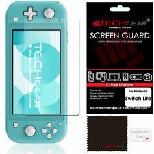TECHGEAR Clear Screen Protector Guard Cover for Nintendo Switch Lite Console