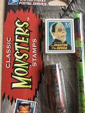 Vtg. The Phantom of the Opera  Universal Monsters USPS Pen Pencil set Halloween!