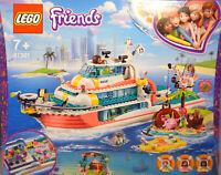 Lego Friends 41381 Boot Schiff für Rettungsaktion Wal Mia Olivia Andrea  NEU