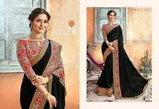 Craftsvilla Chiffon with Blouse Piece Saree New Style India Unique New