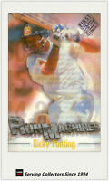 1996/97 Futera Cricket Decider Acetate Card Run Machine RM1: Ricky Ponting