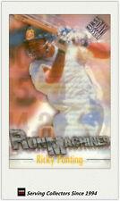 1996/97 Futera Cricket Decider Acetate Card Run Machine RM1: Ricky Ponting