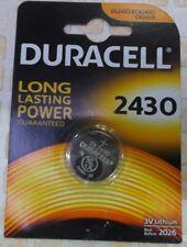 Pila Pile Batterie DURACELL CR 2430