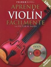 Primer Nivel: Aprende Violin Facilmente: (Spanish edition of Step One - Teach
