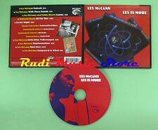 CD LES MCCANN LES IS MORE compilation 2002 LES MCCANN ROBERTA FLACK (C28)