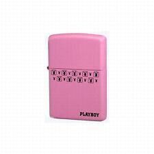 Zippo Playboy Bunny Pink Lighter,24571,+Wick +Flints