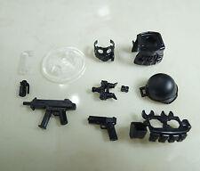 (NO.4-2) custom lego swat police helmet military gun army weapon
