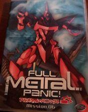 Full Metal Panic! - Mission 6 (DVD, 2004, Reversible Cover)