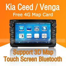 Car Dash DVD Player GPS Navigation Radio Stereo BT IPOD for Kia Ceed Venga