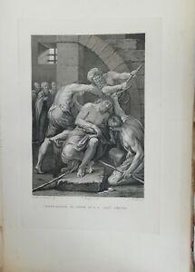 Francesco Rosaspina, 1830, Coronazione di Spine di Gesù Cristo Lodovico Carracci
