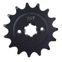 13/14/15T Front Sprocket For HYOSUNG GT250 GV250 C KTM 690 YAMAHA TTR230 YFS200