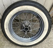 "Harley Softail Front Wheel WWW Tire 3/4"" Tapered Bearing Heritage Fatboy  #4219"